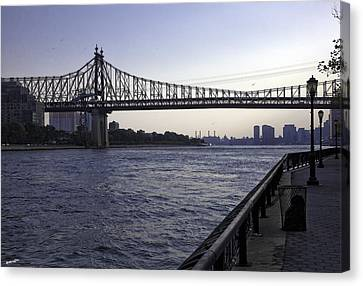 Queensboro Bridge - Manhattan Canvas Print