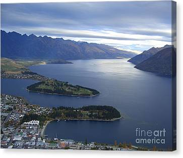 Queenstown  Canvas Print by Joyce Woodhouse