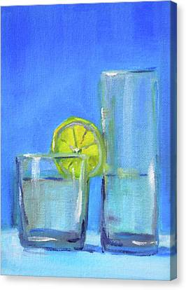 Canvas Print featuring the painting Quench by Nancy Merkle