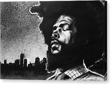 Questlove. Canvas Print by Darryl Matthews