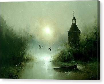 Quiet Abode Canvas Print by Igor Medvedev