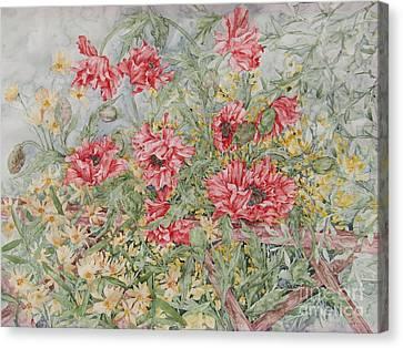 Quiet Corner Canvas Print by Kim Tran