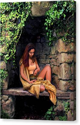 Slaves Canvas Print - Quiet Moment by Bob Nolin