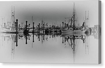 Quiet Reflection 2 Canvas Print by Chris Frykberg