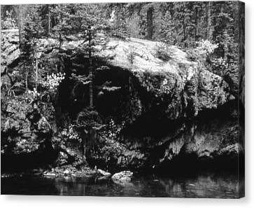 Quiet River Canvas Print by Allan McConnell
