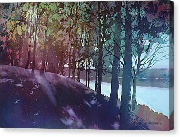 Quiet River Canvas Print by Kris Parins