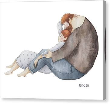 Quiet Time Canvas Print by Soosh