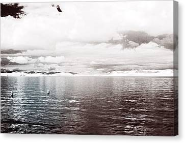 Quiet Waters Canvas Print by Keith Elliott