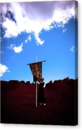 Quilted Sky  Canvas Print by Scott Sawyer
