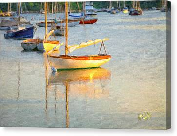 Cape Cod Canvas Print - Quissett Harbor  by Michael Petrizzo