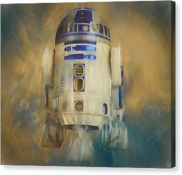 R2-d2 Canvas Print by Dan Sproul