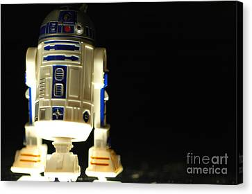 R2-d2 Canvas Print by Micah May
