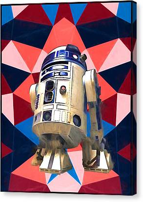 R2d2 Canvas Print by Dan Sproul
