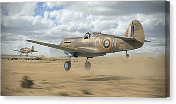 Raaf Tomahawks Canvas Print