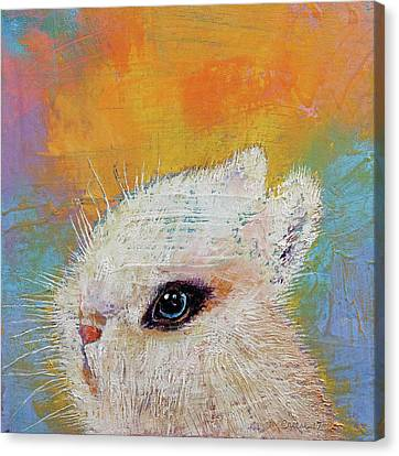 Rabbit Canvas Print by Michael Creese