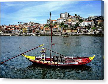 Rabelo Boat I Canvas Print by Marco Oliveira