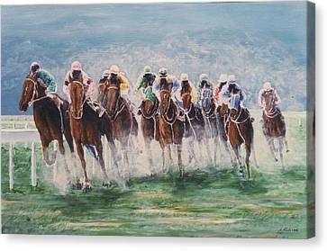Race #4 Canvas Print