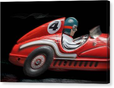 Race Car Canvas Print by Rudy Umans