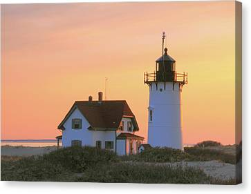 Race Point Light Canvas Print by Roupen  Baker
