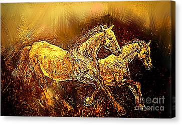 Prodigal Canvas Print - Races Of Life by Kegya Art Gallery