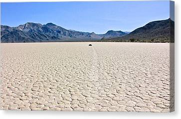 Racetrack Playa Death Valley 2 Canvas Print by Backcountry Explorers