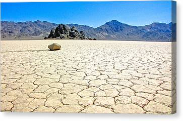 Racetrack Playa Death Valley 3 Canvas Print by Backcountry Explorers