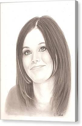 Rachel Bilson Canvas Print