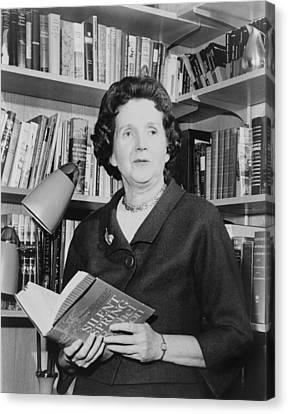 Rachel Carson 1907-1964, Biologist Canvas Print by Everett
