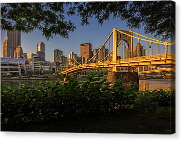 Rachel Carson Bridge Canvas Print by Rick Berk