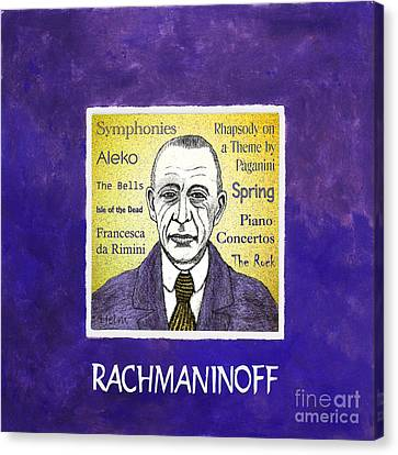 Rachmaninoff Canvas Print by Paul Helm