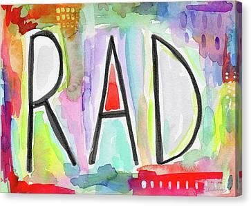 Rad- Art By Linda Woods Canvas Print by Linda Woods