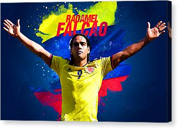 Radamel Falcao Canvas Print