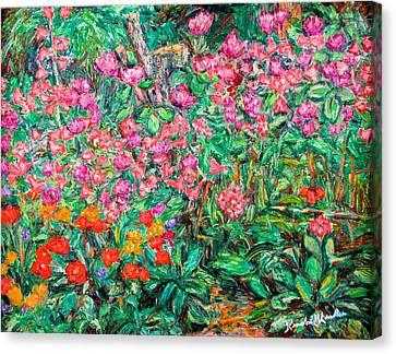 Radford Flower Garden Canvas Print