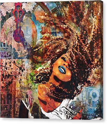 Radiant Canvas Print by Angela Holmes