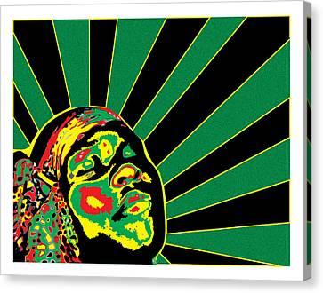 Radiant Soul  Canvas Print by Jasmine Harris