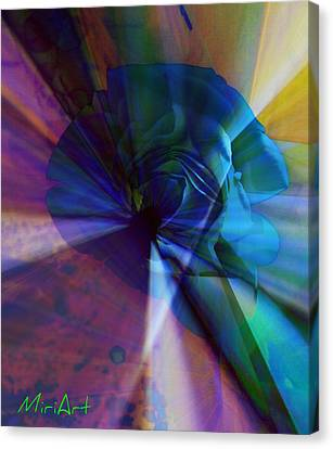 Radiating Light Canvas Print