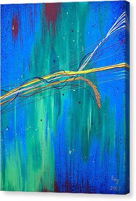 Radient Synergy Canvas Print
