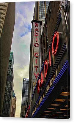 Radio City Ny Canvas Print