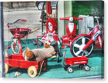 Radio Flyer Canvas Print by David Bearden