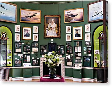 Canvas Print featuring the photograph Raf Bentley Priory by Alan Toepfer