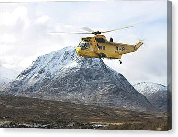Raf Sea King - Sar Canvas Print by Pat Speirs