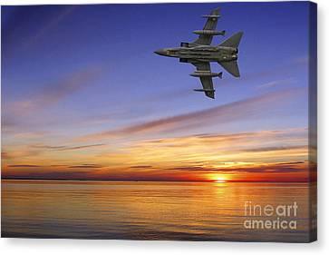 Raf Tornado Gr4 Canvas Print by Nichola Denny