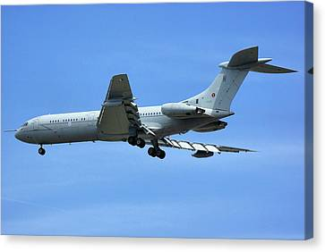 Raf Vickers Vc10 C1k Canvas Print by Tim Beach