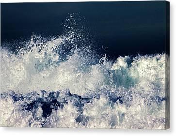 Wavy Canvas Print - Rage by Stelios Kleanthous