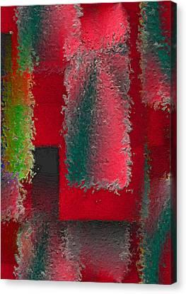 Raggedy Red Canvas Print by John Krakora