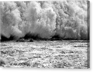 Explosion Canvas Print - Raging Water by Olivier Le Queinec