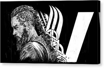 Ragnar Canvas Print by Roman V