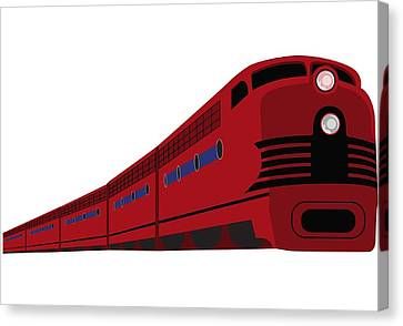 Rail Canvas Print by Now