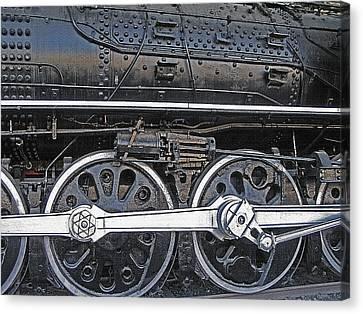 Railroad Museum 2 Canvas Print by Steve Ohlsen