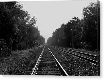 Railroad To Nowhere Canvas Print